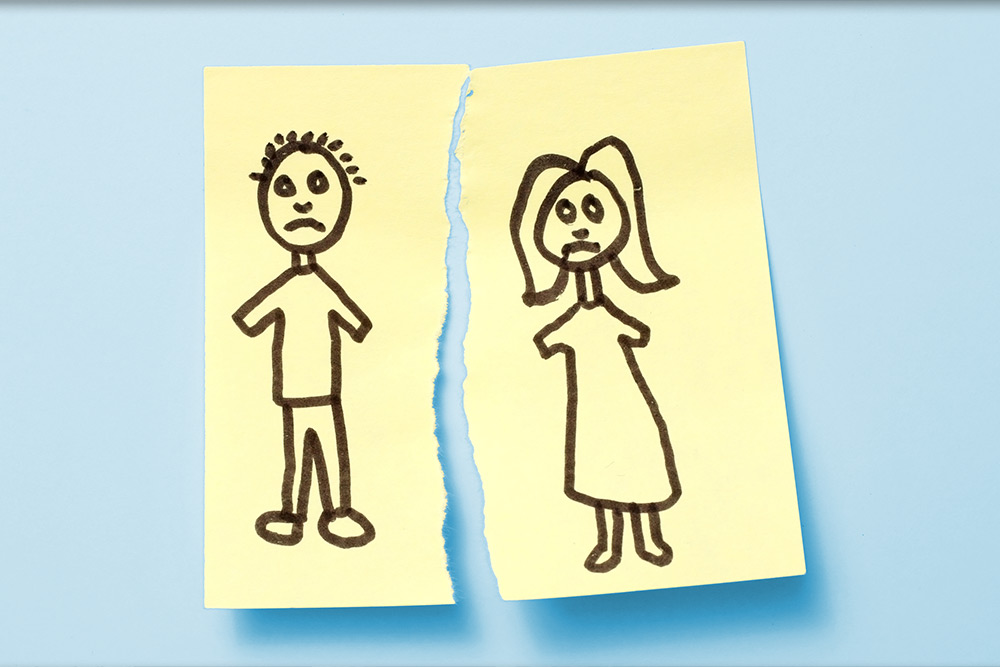 Een scheiding is ook een zoektocht naar nieuw geluk.