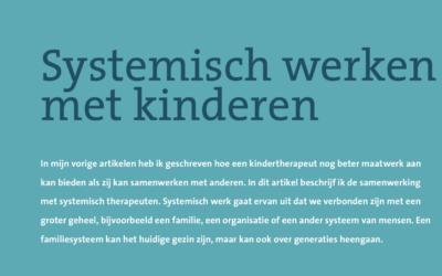 Systemisch werken met kinderen
